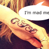 Mad cow Cara Jocelyn Delevingne gets a 'CJD' tattoo