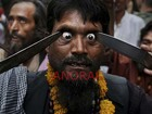 In photos: Indian Muslim Sufi devotees use sharp objects and self flagellate during the Urs festival