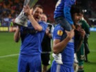 In photos: Full kit hero John Terry and his kids win the Europa Cup for Chelsea
