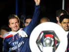 In photos: David Beckham celebrates last match with an ashtray