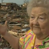 Oklahoma tornado video: Barbara Garcia finds her dog in the debris