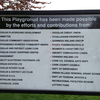 The epic Douglas Cork playground typo