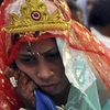 Photos: The most miserable brides in the world at a mass marriage held on 'Akshaya Tritiya' in Bhopal
