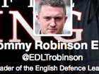 Is EDL leader Tommy Robinson a victim of A Twitter Hunt? Tweeters want Lee Rigby 'defender' raped and his mother beheaded