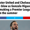 Higuain Watch: striker demands Chelsea, wants Liverpool, shuns Manchester United, signs for Arsenal, moves nowhere