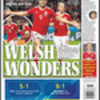 Wales into Euro 2016 semi-final – the front pages