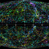 This 3D map of the Universe shows 43,000 galaxies