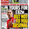 Media balls: Liverpool's Roberto Firmino to Arsenal for £82m plus £1
