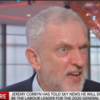 Jeremy Corbyn meltsdown in the Sun, Mail and Express but is smiling in the Mirror