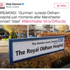 Manchester terror fake news: Daily Express and Daily Star spot a gunman in Oldham