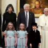 Trump and Pope Woody Allen star in The Shining, The Addams Family and The Omen remakes