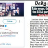 The Daily Mail continues to plagiarise The Mail Online, which it has 'nothing to do with'