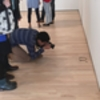 Teenagers put glasses on museum's floor and people thought it was art