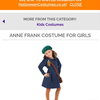 Going fast: the Anne Frank Halloween costume for girls