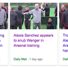 Arsenal balls: Sanchez and Wenger meet in secret and all about that handshake