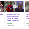 Ian Wright: Arsenal great was 'bullied' at Crystal Palace