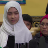 Justin Trudeau rides to the rescue on Khawlah Noman's cut hijab