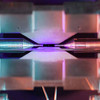 An incredible photo of a single atom visible to the naked eye wins science prize