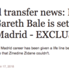 Transfer Balls: Gareth Bale to Manchester United and Real Madrid chatter