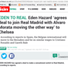 Clickbait balls: Hazard keeps agreeing to leave Chelsea for Real Madrid