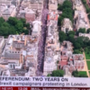 How many people were on the Peoples'  Vote March for Populism?