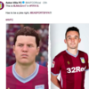 Aston Villa adopt John McGinn's weird FIFA avatar as his official twitter photo