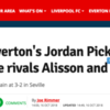 Clickbait balls: Everton and Liverpool both boast the Premier League's best goalkeeper