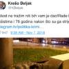 Statue of anti-fascist hero breaks leg of 'fascist' trying to destroy it