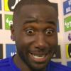 Cardiff City: Sol Bmba has blue skin