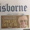 Newspaper says Spike Lee not Stan Lee is dead