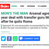 Transfer balls: Monchi agrees Arsenal move and joins Seville