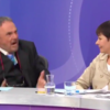 John Rhys-Davies is Adam Ant on Question Time