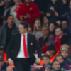 Who is the Arsenal fan at the Emirates in the dressing gown?