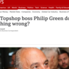 Yellow Journalism: The BBC goes full tabloid over Sir Philip Green and the death of Top Shop