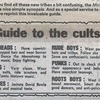 Guide to the Cults – 1979