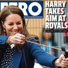 Kate takes aim at that sucker Prince Harry