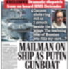 Russia fires on British ship for first time since 1919